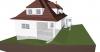 Einfamilienhaus Perspektive Südost