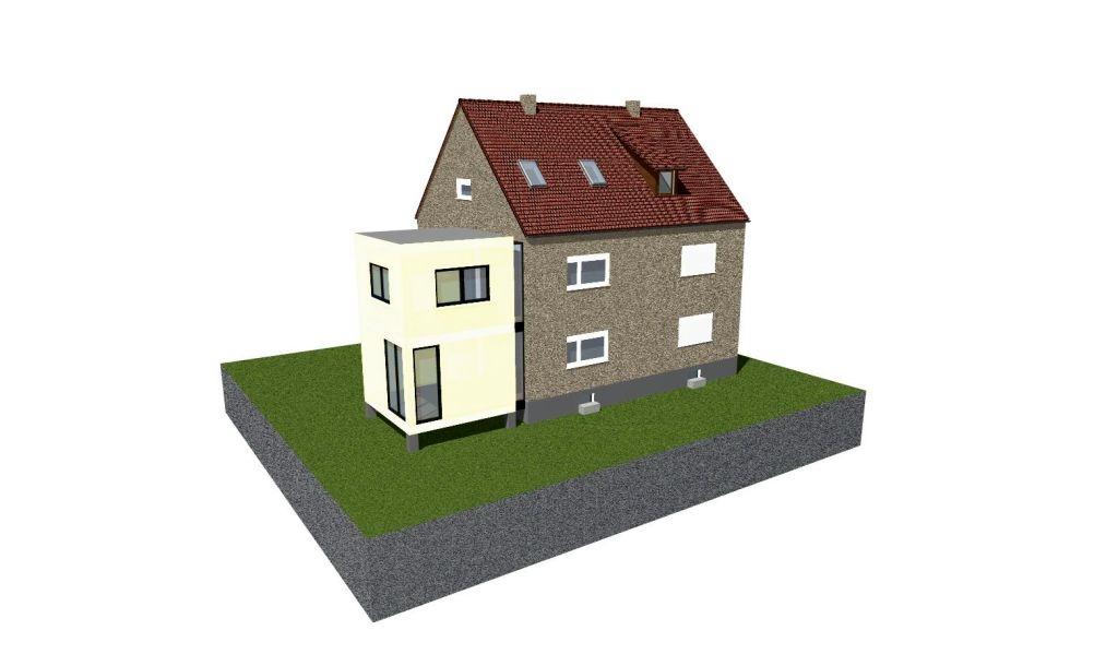 Erweiterung Doppelhaushälfte Ringwiese