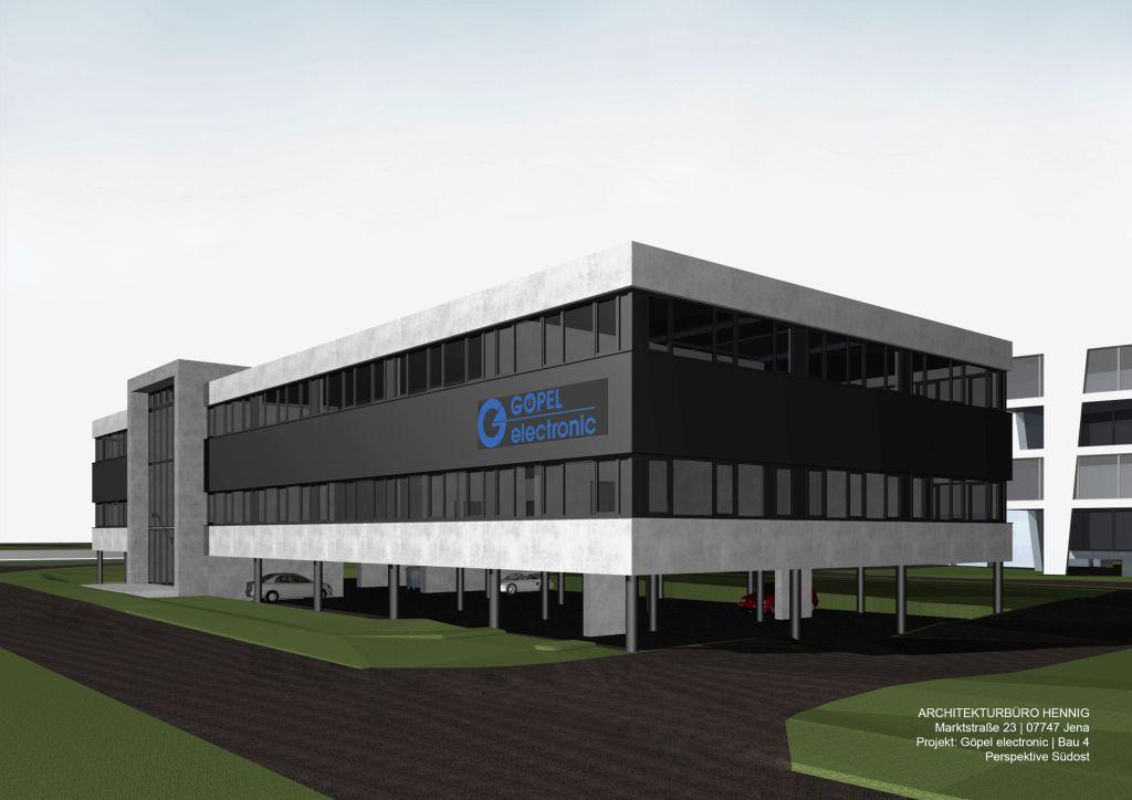 Neubau Produktionsgebäude Bau 4