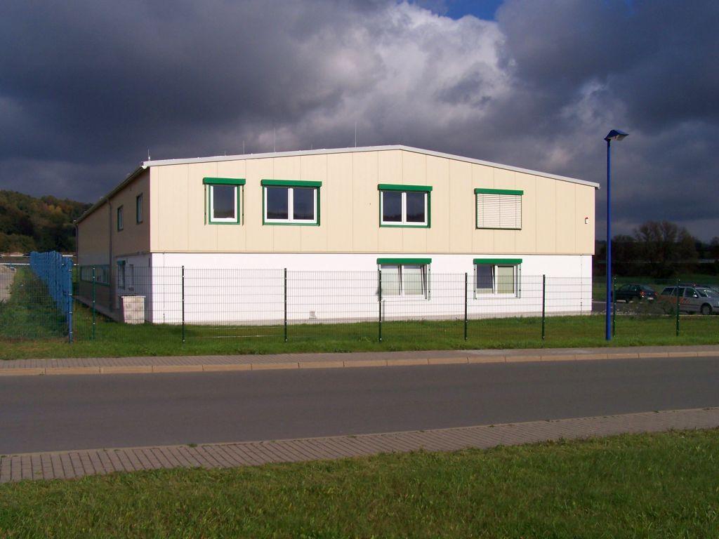 Neubau Gewerbehalle Laasdorf